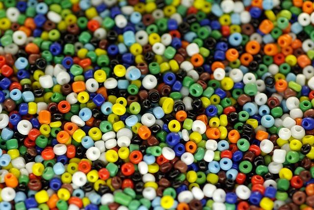 barevné korále