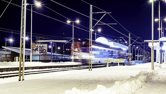 vlaková stanice